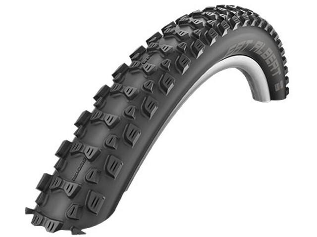 """SCHWALBE Fat Albert Rear Bike Tyre 24"""" Foldable black"""